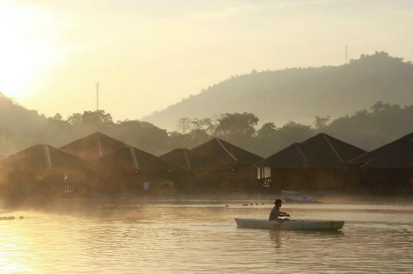 เลคเฮฟเว่น รีสอร์ท แอนด์ ปาร์ค (Lake Heaven Resort & Park) มัลดีฟส์แห่งเมืองไทย จังหวัดกาญจนบุรี