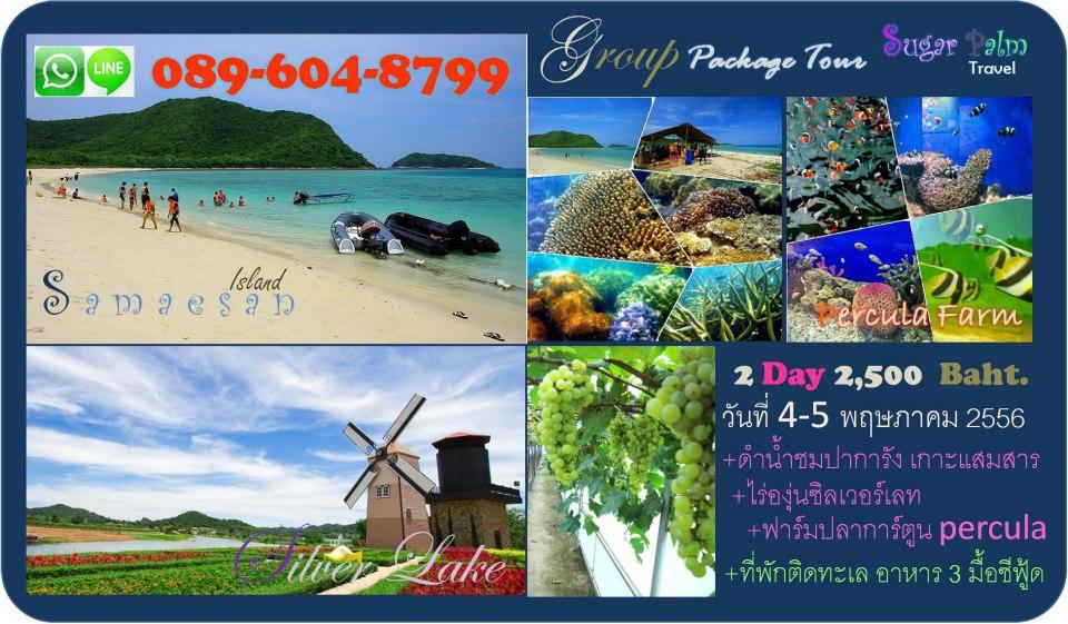 แพคเกจทัวร์ชลบุรี ช่วงเดือนพฤษภาคม 2556 โดย Sugar Palm travel