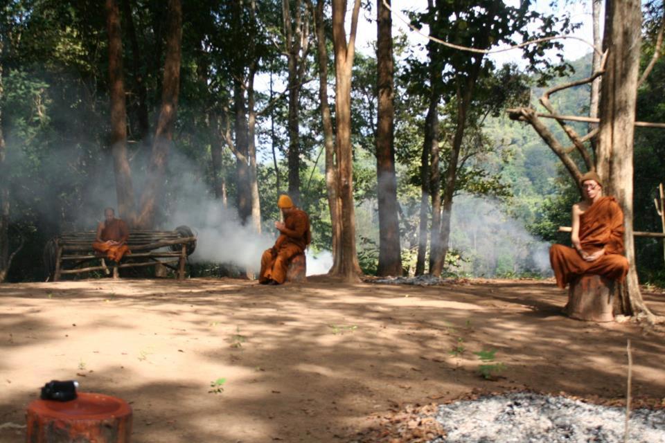 ห้วยหยวกป่าโซ หนึ่งในวัดสาขา สำนักปฏิบัติธรรมถ้ำป่าอาชาทอง