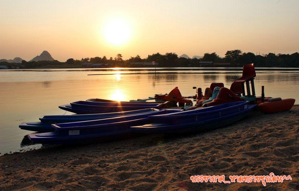 หาดทรายชุกโดน สถานที่ท่องเที่ยวแห่งใหม่ของจังหวัดกาญจนบุรี