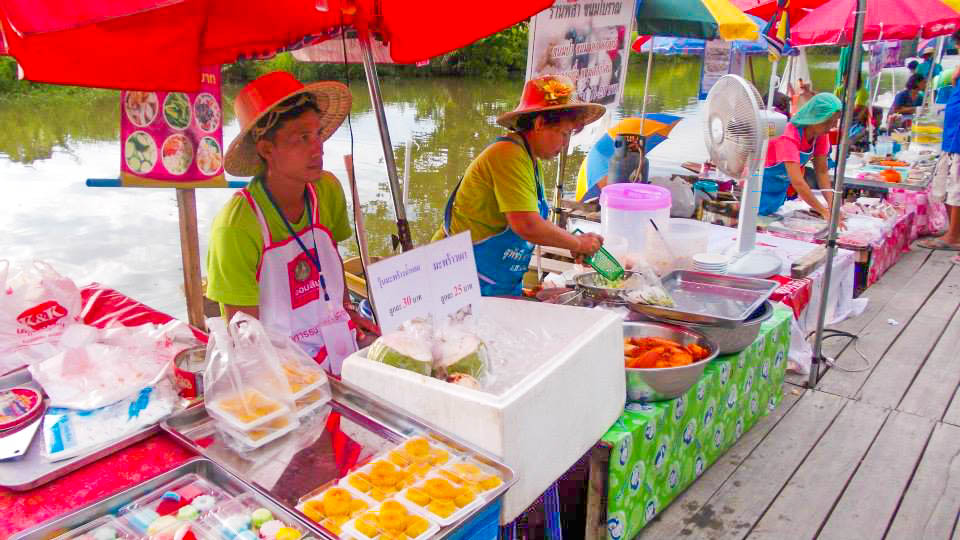 เที่ยวชม ช็อป ชิมอาหาร ตลาดน้ำเขาชัยสน จังหวัดพัทลุง