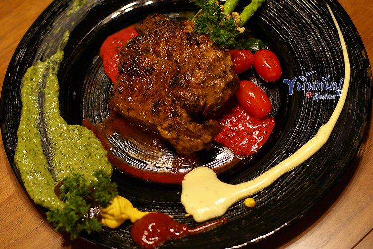 สเต็กหมูคุโรบูตะ