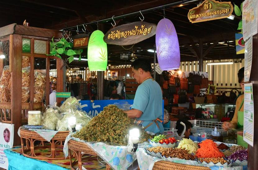 เที่ยวชมวิถีชีวิตริมคลองแสนแสบ เที่ยวตลาดน้ำขวัญเรียม