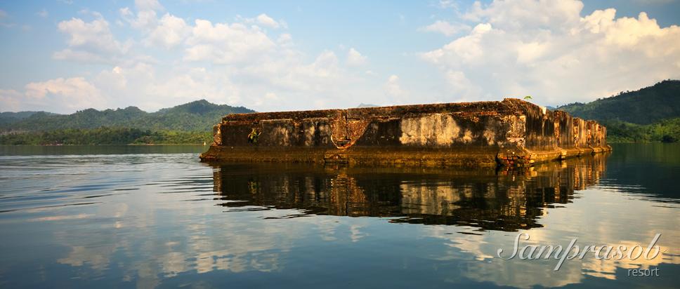 กิจกรรมนั่งเรือ ชมวัดเก่า เมืองบาดาล รำลึกอดีต
