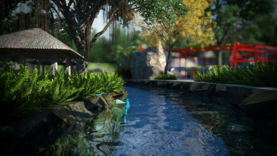 สวนน้ำวานา นาวา หัวหิน วอเตอร์ จังเกิ้ล (Vana Nava Hua Hin Water Jungle) จังหวัดประจวบคีรีขันธ์
