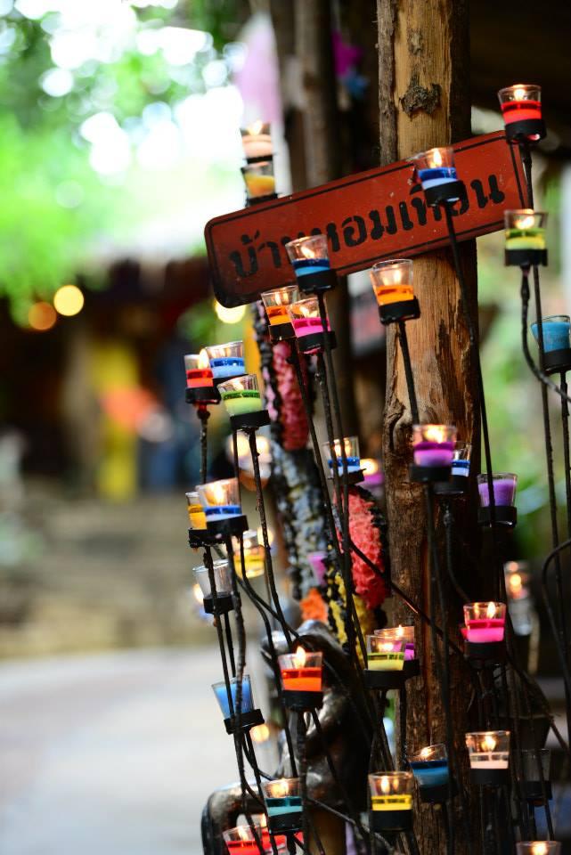 เทศกาลงานเทียน (Candle 2013) ณ บ้านหอมเทียน อำเภอสวนผึ้ง จังหวัดราชบุรี
