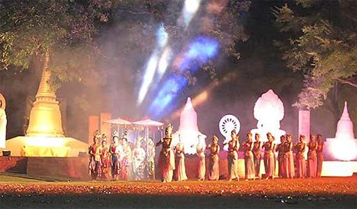 เทศกาลท่องเที่ยวอู่ทอง อู่ทองอู่อารยธรรมสุวรรณภูมิ 26 ธันวาคม 2556 - 1 มกราคม 2557 ณ บริเวณหน้าอำเภออู่ทอง จังหวัดสุพรรณบุรี