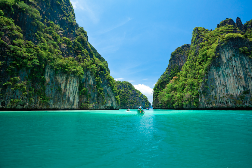 เกาะพีพี 1ใน 10 ทะเลที่สวยติดอันดับโลก