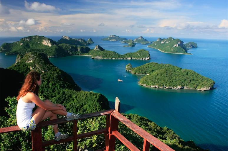 หมู่เกาะอ่างทอง จังหวัดสุราษฎร์ธานี