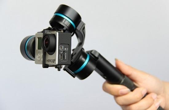 3-Axis Handheld Gimbal แก็ดเจ็ตเสริมสำหรับกล้อง Gopro ช่วยให้ถ่ายภาพนิ่งขึ้น