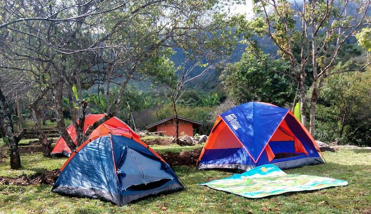 แพคเกจทัวร์ ผาซากุระ ที่พัก บ้านพัก ที่กางเต้นท์ บ้านขุนวาง กับบรรยากาศล้อมรอบด้วยต้นซากุระเมืองไทย