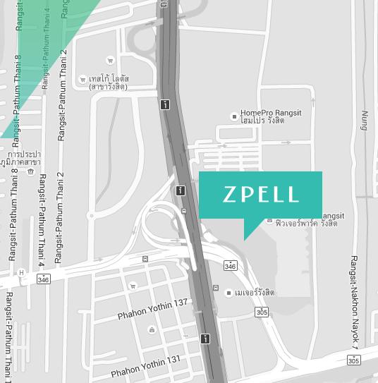สถานที่ตั้งสเปลแอทฟิวเจอร์ (Zpell @ Futurepark)