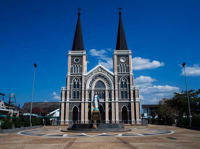 โบสถ์วัดแม่พระปฏิสนธินิรมล จังหวัดจันทบุรี