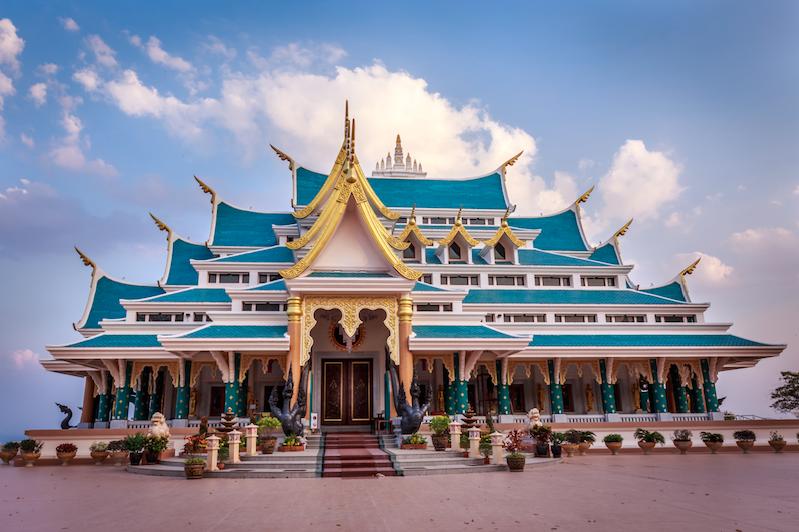 วัดป่าภูก้อน (Wat Pa Phu Kon) จังหวัดอุดรธานี