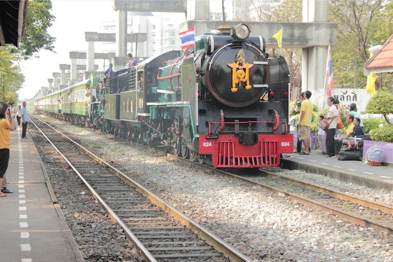 ทริปท่องเที่ยวจังหวัดพระนครศรีอยุธยาด้วยรถไฟขบวนพิเศษ ย้อนอดีตกับขบวนรถไฟหัวรถจักรไอน้ำโบราณ 23 ตุลาคม 2559 เส้นทางกรุงเทพฯ – พระนครศรีอยุธยา –กรุงเทพฯ)