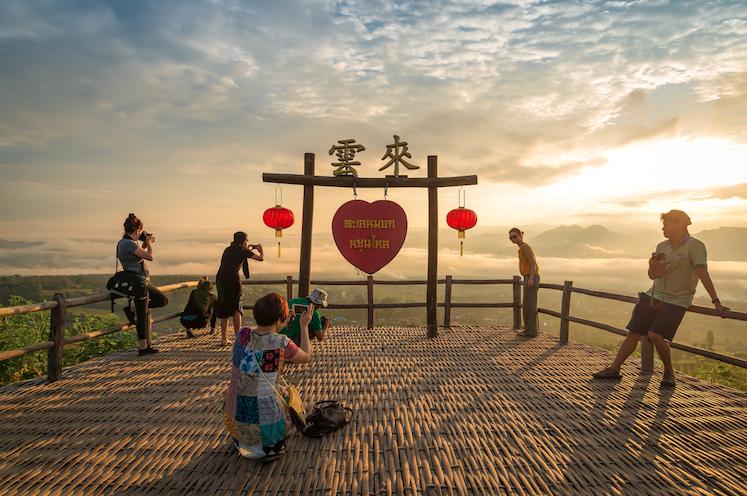 จุดชมทะเลหมอกหยุนไหล (Yun-Lai Viewpoint) อำเภอปาย จังหวัดแม่ฮ่องสอน