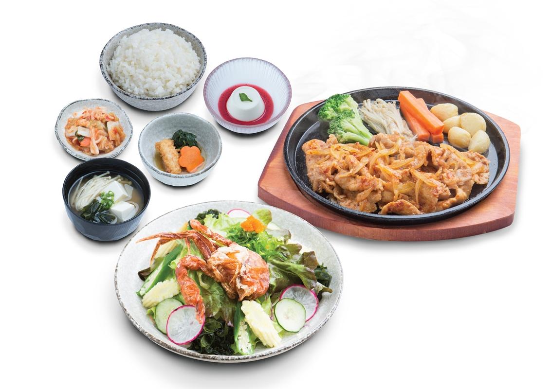 3-menu-ny-zen-%e0%b8%8a%e0%b8%b8%e0%b8%94-pork-pirikara-yakiniku-or-beef-pirikara-yakiniku-soft-shell-crab-salad