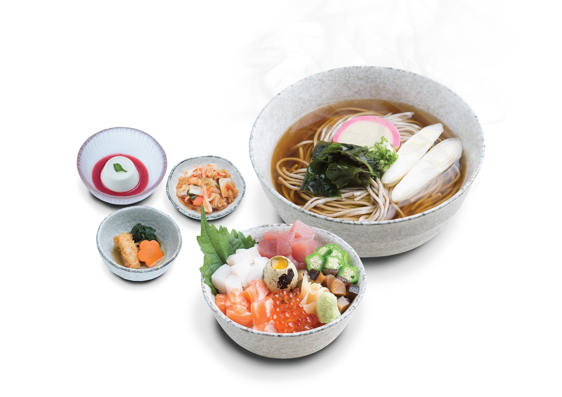 MINI CHIRASHI DON & UDON SET