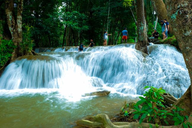kroeng-krawia 5 น้ำตกน่าเที่ยวในกาญจนบุรี