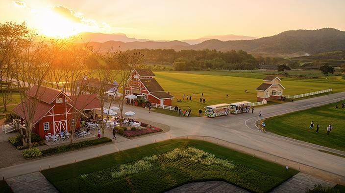 ฟาร์ม เฟสติวัล ออน เดอะฮิลล์ (Farm Festival on the Hill) ประจำปี 2560