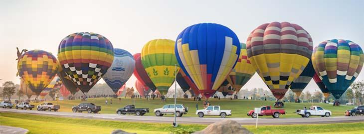 เทศกาลบอลลูนนานาชาติ (Singha Park Chiangrai International Balloon Fiesta 2018) วันที่ 14-18 กุมภาพันธ์ 2561 ณ สิงห์ปาร์คเชียงราย