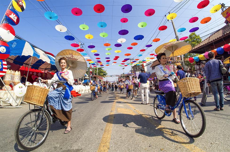 เทศกาลร่มบ่อสร้างและหัตถกรรมสันกำแพง ครั้งที่ 35 ประจำปี 2561 จังหวัดเชียงใหม่