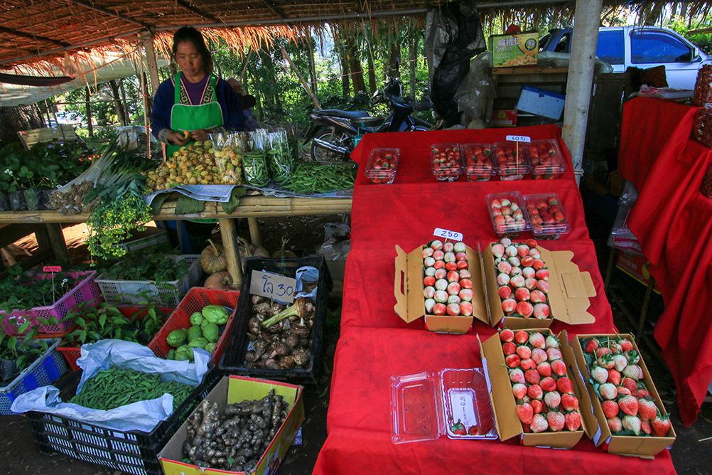 ตลาดนัดชุมชนบ้านขุนวาง
