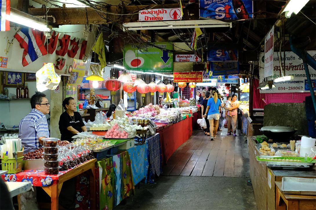 ตลาดน้ำดอนหวาย (Don Wai floating market) จังหวัดนครปฐม