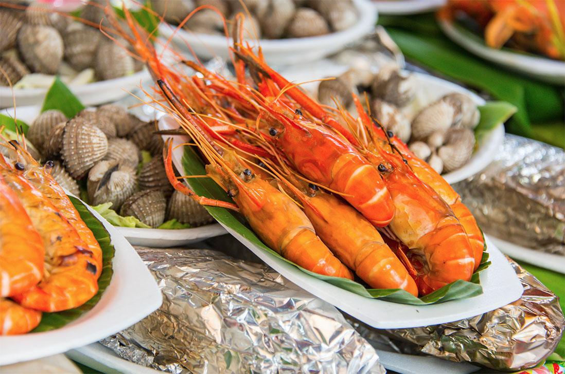 เทศกาลกินกุ้ง สมุทรสาคร ครั้งที่ 1 ตอน กินกุ้งขาวแวนนาไมช่วยชาติ 15-17 มิถุนายน 2561 ณ ตลาดทะเลไทย จังหวัดสมุทรสาคร