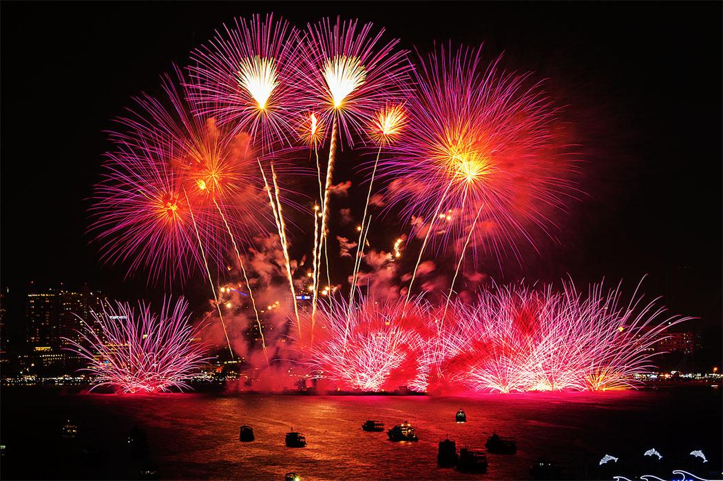 เทศกาลพลุนานาชาติเมืองพัทยา 2561 (Pattaya International Fireworks Festival 2018)