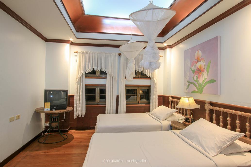 บรรยากาศภายในห้องพักเก๊าไม้ล้านนา รีสอร์ท (Kao Mai Lanna Resort)