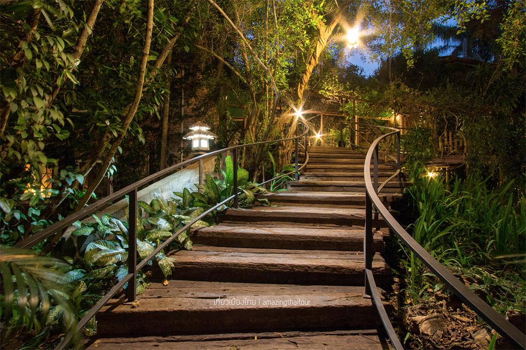 เก๊าไม้ล้านนา รีสอร์ท (Kao Mai Lanna Resort) อำเภอสันป่าตอง จังหวัดเชียงใหม่