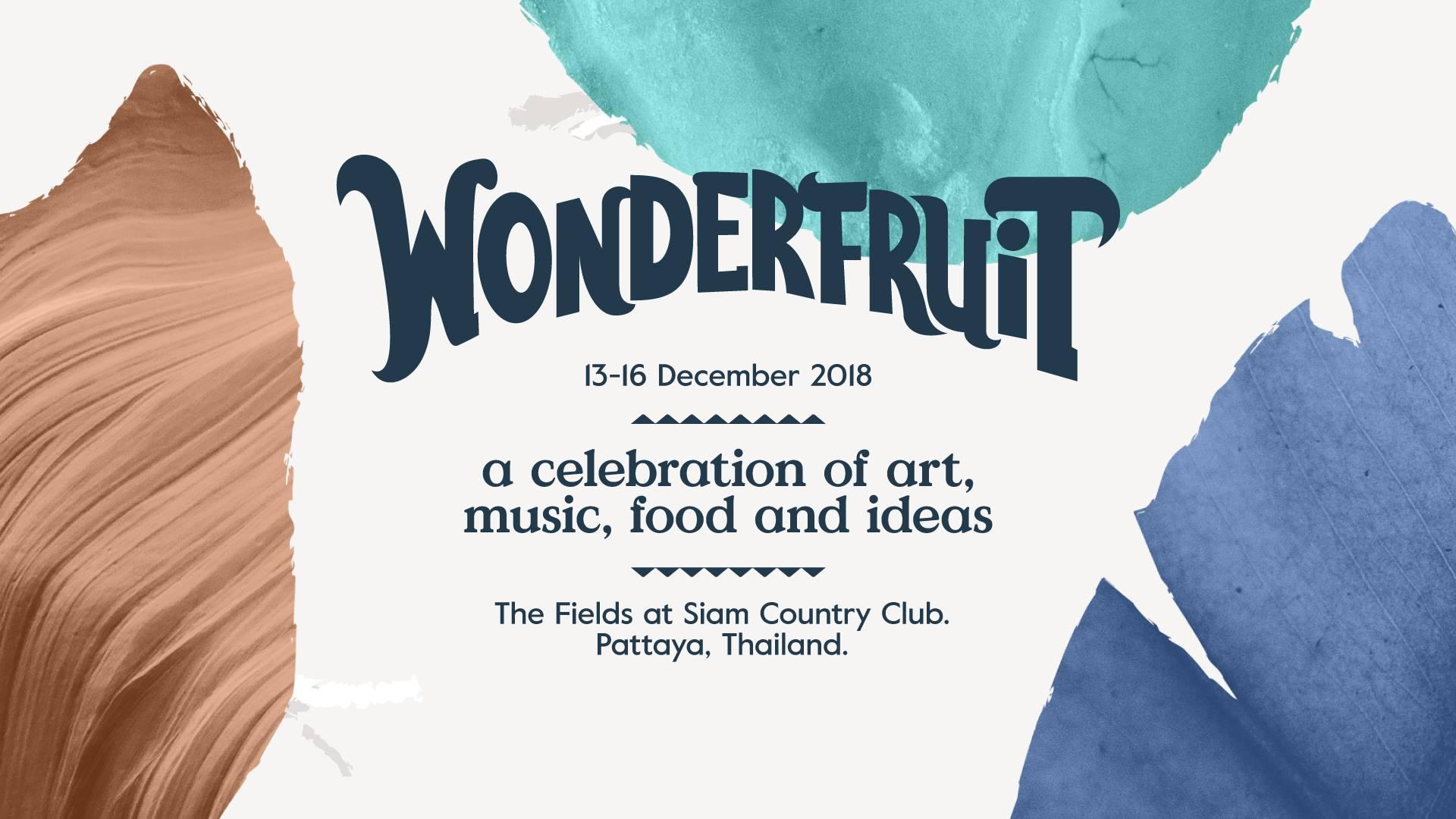 Wonderfruit Festival 2018 พัทยา