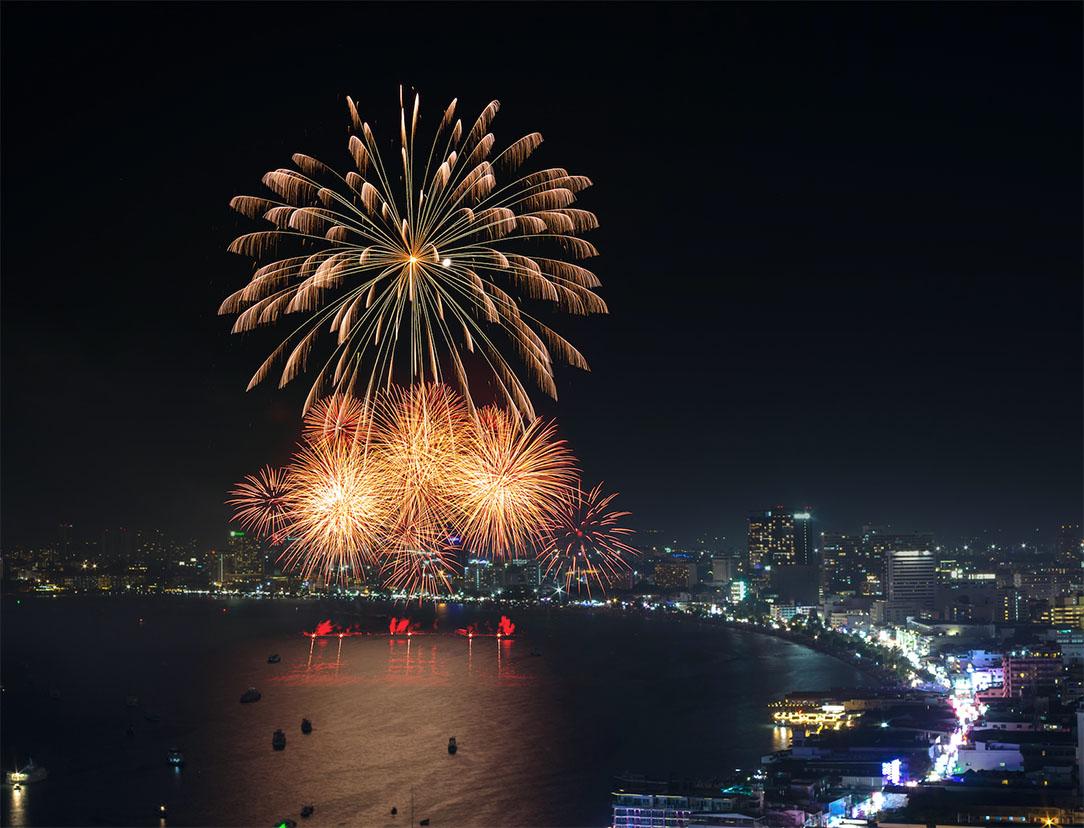 เทศกาลปีใหม่ พัทยา 2562 (Pattaya Countdown 2019)