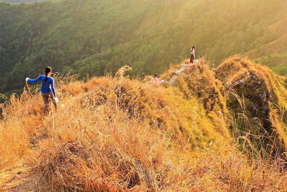 เปิดฤดูกาลท่องเที่ยวเขาช้างเผือก ประจำปี 2562 จังหวัดกาญจนบุรี