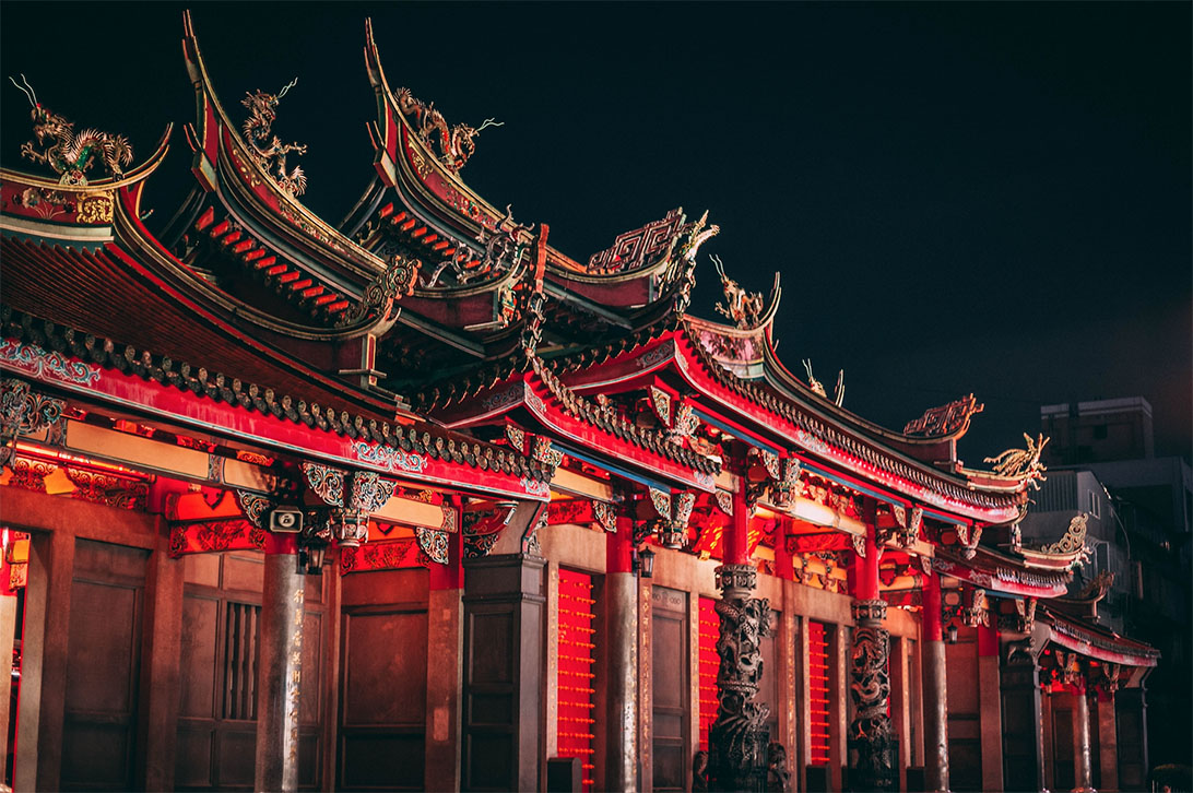 วัดหลงซาน (Longshan Temple)