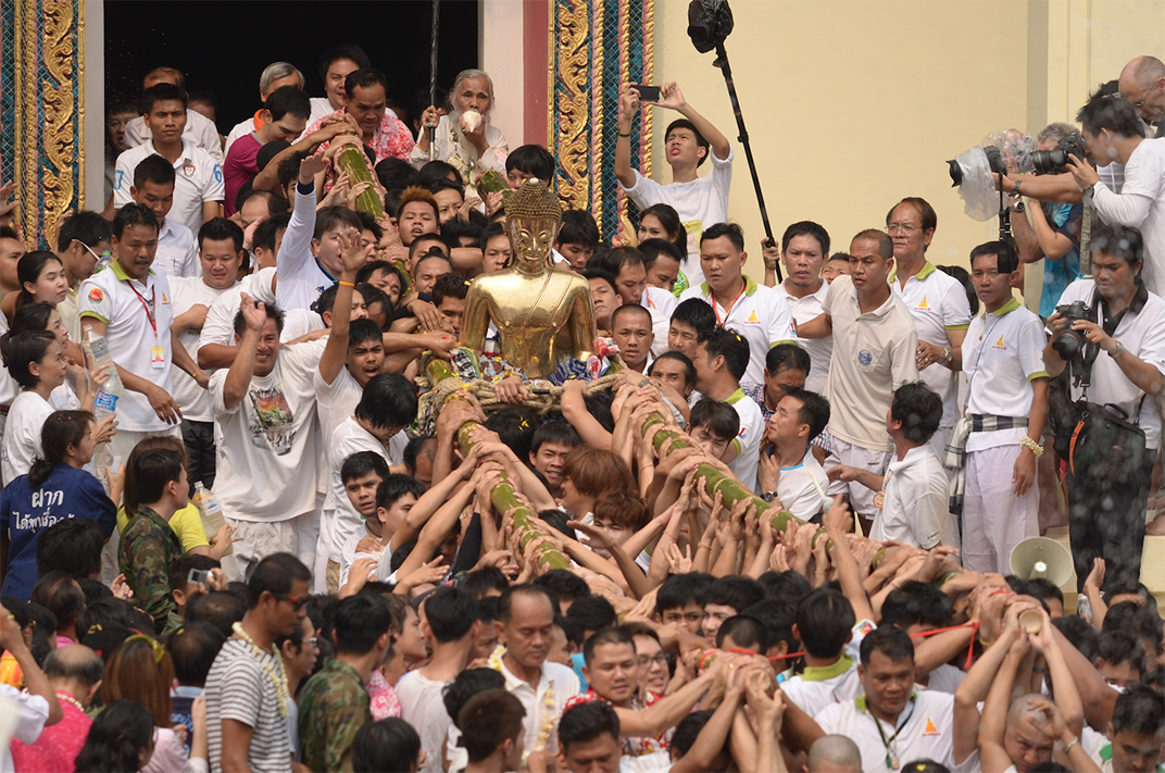 งานเทศกาลตรุษสงกรานต์อีสานหนองคาย และสมโภชหลวงพ่อพระใส ประจำปี 2562