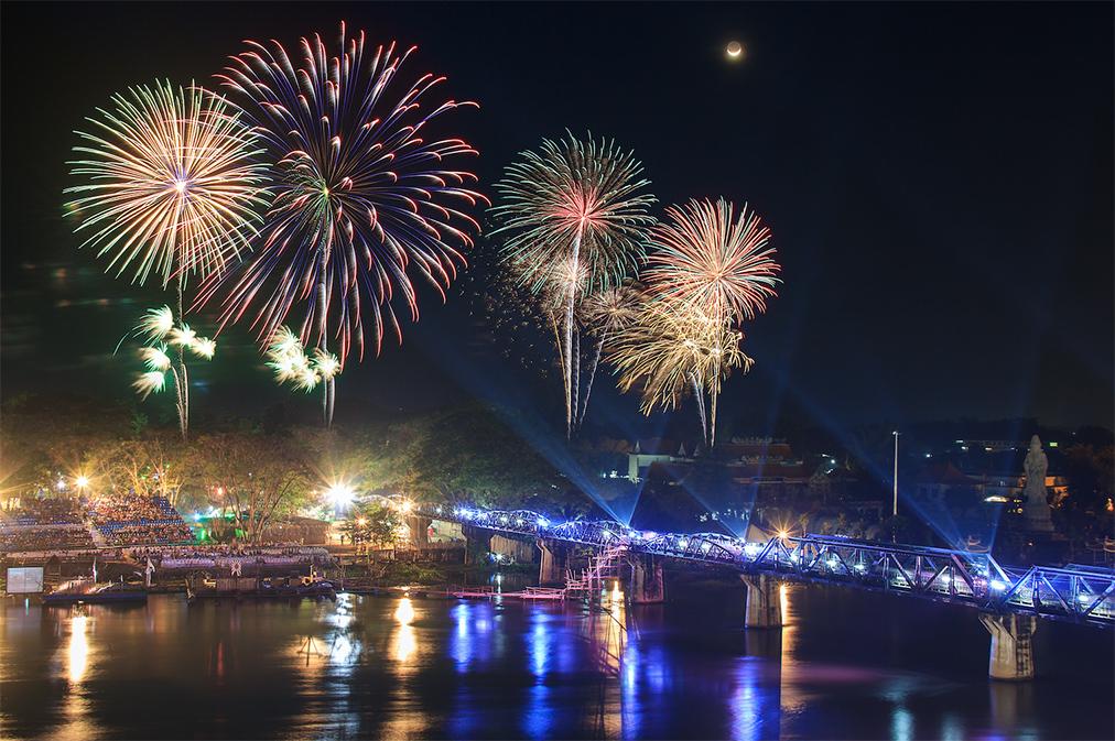 งานสัปดาห์สะพานข้ามแม่น้ำแคว และงานกาชาดจังหวัดกาญจนบุรี 2562