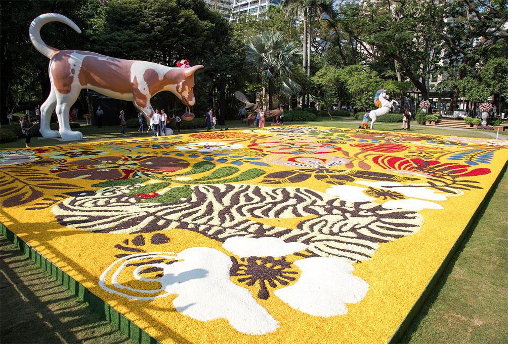 งานดอกไม้ NaiLert Flower & Garden Art Fair 2020 ปาร์คนายเลิศ