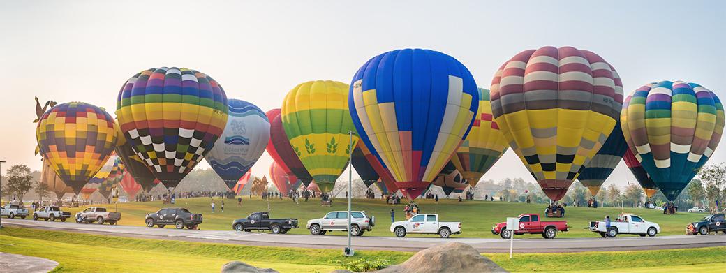 เทศกาลบอลลูนนานาชาติ ประจำปี 2563 (International Balloon Fiesta 2020) สิงห์ปาร์คเชียงราย