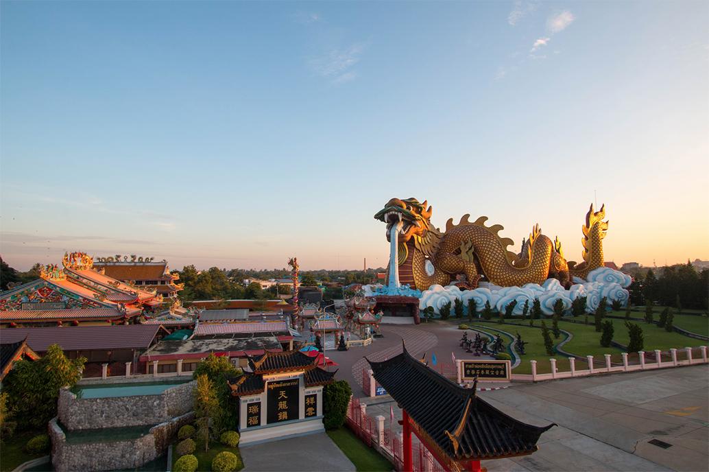 ตรุษจีนสุพรรณบุรี มหัศจรรย์ 12 ปี มังกรสวรรค์ ประจำปี 2563
